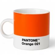 Pantone - Porzellan Espressotasse Orange 021