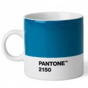 Pantone - Tasse à expresso porcelaine Blue 2150