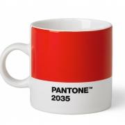 Pantone - Tasse à expresso porcelaine Red 2035