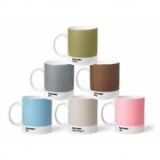 Pantone - Porzellan-Becher Set (6 Stück) Pastell