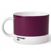 Pantone - Porzellan Teebecher Aubergine 229