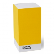 Pantone - Note Pad Notizblock Yellow 012