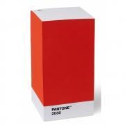 Pantone - Note Pad Notizzettelblock Red 2035