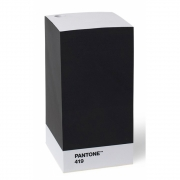 Pantone - Note Pad Notizblock Black 419
