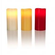 Klein & More - LED Echtwachs-Kerze