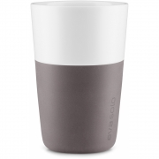 Eva Solo - Caffé Latte-Becher (2 Stück) Grau-Braun