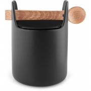 Eva Solo - Toolbox Dispenser with Spoon H. 15 cm, Black