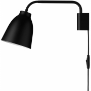 Fritz Hansen - Caravaggio READ Wall lamp Black