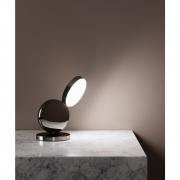 Fontana Arte - Optunia Table Lamp 24 cm | Dark brown