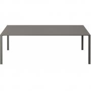 Kristalia - Thin-K Longo Tisch mit Kabeldurchlass