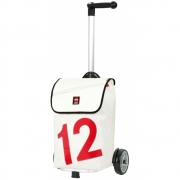 360 Grad - Luv Trolley Weiss / Zahl Rot