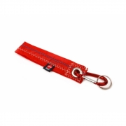 360 Grad - Karabiner Schlüsselanhänger Rot