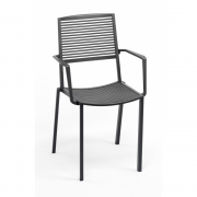 Fast - Easy Armchair Metallic Grey