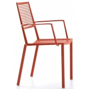 Fast - Easy Armchair Coral Red