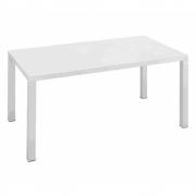 Fast - Easy Tisch 90 x 90 cm | Pulvergrau