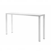 Fast - Easy Bartisch 140 x 70 cm | Weiß