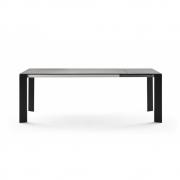 Fast - Grande Arche Extending Table 220/270 x 100 cm | Metallic Grey