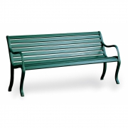 Fast - Oasi Bench 3-Seater | Old Green