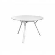 Fast - Radice Quadra Table Ø130cm Powder Grey