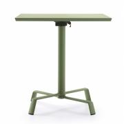 Fast - Tonik / Elica Folding Table 60 x 60 cm | White | White