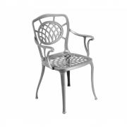 Fast - Althea Armchair Metallic Grey