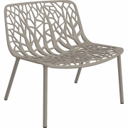 Fast - Forest Longe Armchair Pearly Gold
