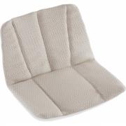 Fast - Sitz- und Rückenkissen für Forest Loungesessel Solids Taupe
