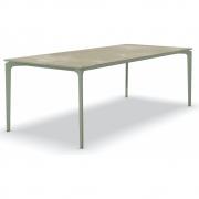 Fast - AllSize Tisch mit Platte aus Feinsteinzug, Hazel
