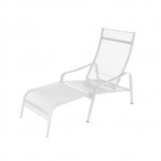 Fermob - Alizé Deckchair Cotton White
