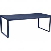 Fermob - Bellevie Esstisch 196 x 90 cm | Abyssblau