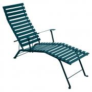 Fermob - Bistro Chaise longue Bleu Acapulco