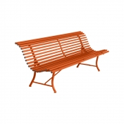 Fermob - Louisiane Bench 200 cm | Carrot