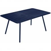 Fermob - Luxembourg Tisch 165x100 cm   Abyssblau