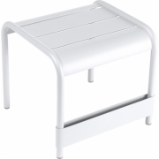 Fermob - Luxembourg Table basse/repose-pied Blanc Coton