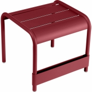 Fermob - Luxembourg Table basse/repose-pied Piment