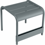 Fermob - Luxembourg Side Table/Footrest Storm Grey
