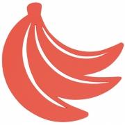 Fermob - Envie d'Ailleurs Bananes Bases para copos Capucine