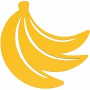Fermob - Envie d'Ailleurs Bananes Untersetzer