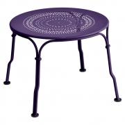Fermob - 1900 Niedriger Tisch Aubergine