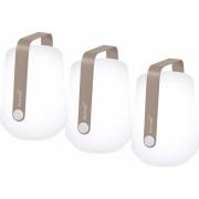 Fermob - Balad Outdoorleuchte H 12 cm (3er Set) Muskat