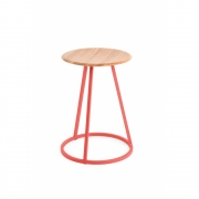 Harto - Stool Gustave 45cm - Strawberry Red