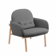 Harto - Fauteuil Georges Armchair Slate Grey