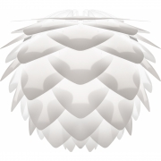 Umage - Silvia Leuchtenschirm Weiß