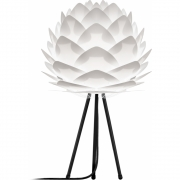 Umage - Silvia Tischleuchte H 49 cm (Mini) | Weiß | Schwarz