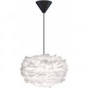 Umage - Eos Pendelleuchte Ø 35 cm (Mini) | Weiß | Schwarz-Kunststoff