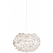Umage by Vita Copenhagen - Eos Pendelleuchte Ø 45 cm (Medium) | Weiß | Weiß-Kunststoff