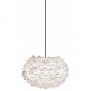 Umage by Vita Copenhagen - Eos Pendelleuchte Ø 45 cm (Medium) | Weiß | Schwarz-Kunststoff