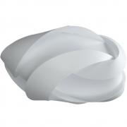 Umage - Ribbon Pendelleuchte Medium | Weiß-Metall