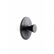 applicata - Nipple Hook Small | Stained Oak