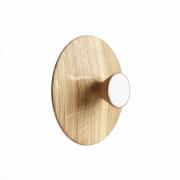 applicata - Nipple Wandhaken Mittel | Eiche/Weiß
